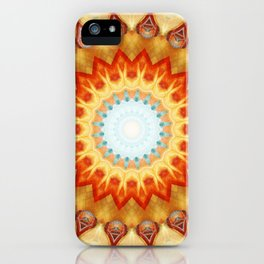 Mandala magnificence iPhone Case