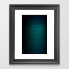 Wrinkle In Time: Book Cover Redesign Framed Art Print