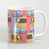 cars Mugs featuring cars by mark ashkenazi