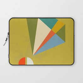 Mid Century Modern Abstract Design - Earthtones Laptop Sleeve