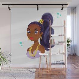 Mermay Lavender Wall Mural