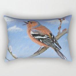 Spring sky Rectangular Pillow