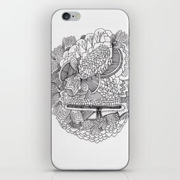 Abstract Pattern Clump iPhone Skin