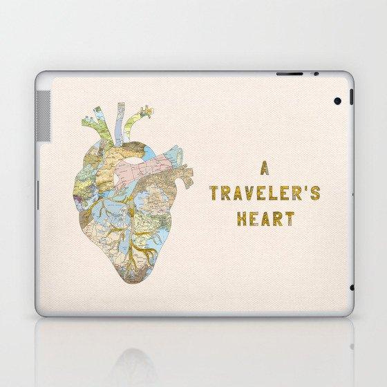 A Traveler's Heart Laptop & iPad Skin
