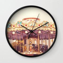Carousel Wall Clock