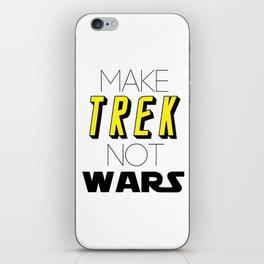 Trek Not Wars iPhone Skin
