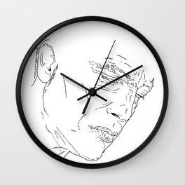 NOORD portrait #1 / Wall Clock