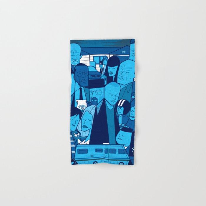 Breaking Bad (blue version) Hand & Bath Towel