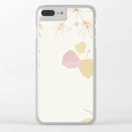 Double Tap When You See It Clear iPhone Case