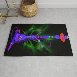 Purple Hookah Rug