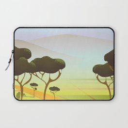 Siracusa Italy travel poster Laptop Sleeve