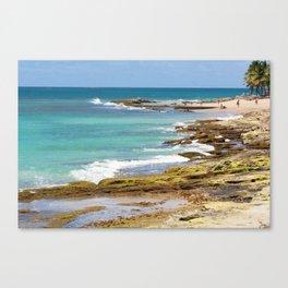 Condado Beach Canvas Print