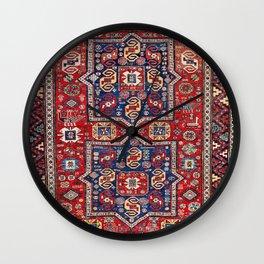 Kuba Sumakh East Caucasus Rug Print Wall Clock
