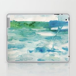 Miami Beach Watercolor #2 Laptop & iPad Skin
