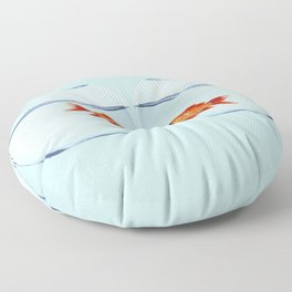 Two Fish Floor Pillow