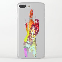 Inferno At The Starlight Revue! Clear iPhone Case