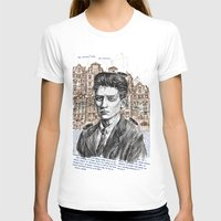 kafka T-shirts featuring Kafka by Nina Palumbo Illustration