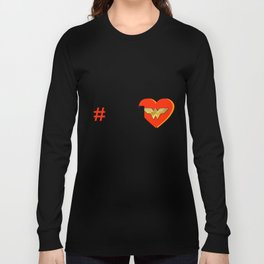 HASHTAG Heroes: AmazonPrincess Long Sleeve T-shirt