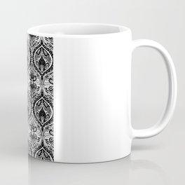 Simple Ogee Black & White Coffee Mug