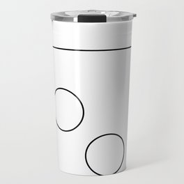 The Falling Circle Travel Mug