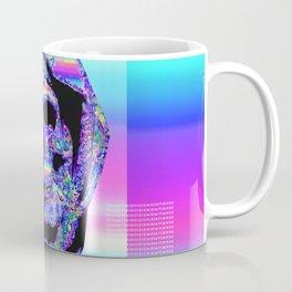 Iridescent Skull Coffee Mug