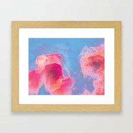 Abyss Staring Back Framed Art Print