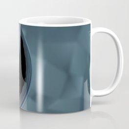 Blue Caustics Coffee Mug