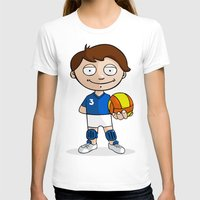 volleyball T-shirts featuring Volleyball player by Jordygraph