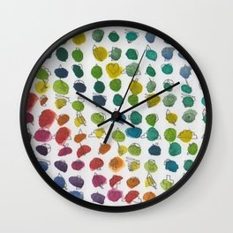 Rainbow Symbology Wall Clock