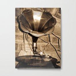 PHONOGRAPH 2  Metal Print
