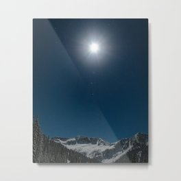 Ymir Under the Moon Metal Print