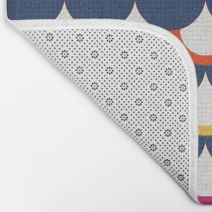 Retro Scales Bath Mat