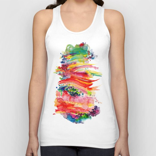 Watercolor Unisex Tank Top