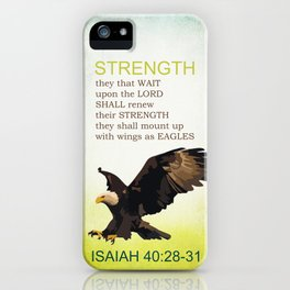 EAGLE WINGS iPhone Case