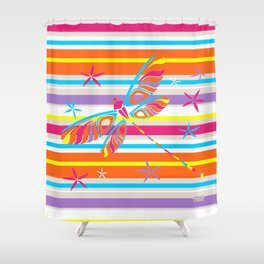 CN DRAGONFLY 1001 Shower Curtain