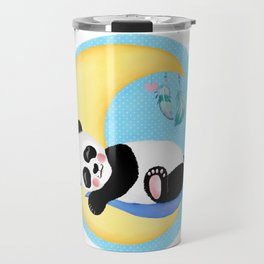 Baby Panda Boy Travel Mug
