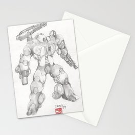 Mechanoid Drone Stationery Cards