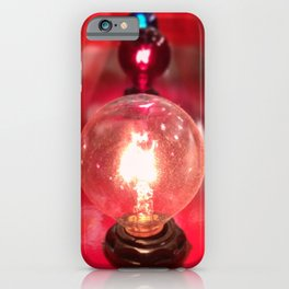 Light Bulbs Square Format iPhone Case