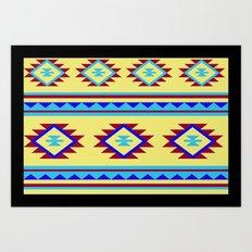 Azteca Art Print