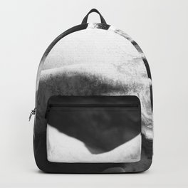 Stone Carving Statue - Photography black & white Backpack