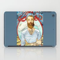 dick iPad Cases featuring Moby Dick by Rose Draft