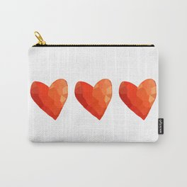 A Single Red Heart Carry-All Pouch