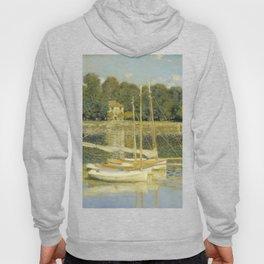 """Claude Monet """"The Argenteuil Bridge"""" Hoody"""