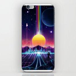 Neon Sunrise iPhone Skin