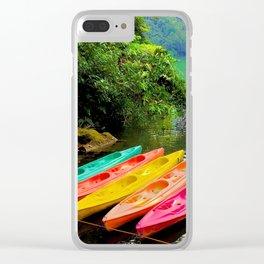 Kayak Clear iPhone Case