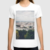 budapest T-shirts featuring Budapest Pano by Johnny Frazer