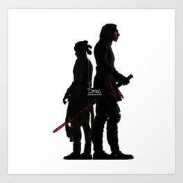 Force Bond Art Print