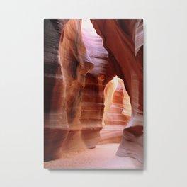 Sacred  Antelope Canyon Metal Print