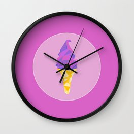 Ice Cream Dreams Wall Clock