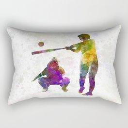 baseball players 02 Rectangular Pillow